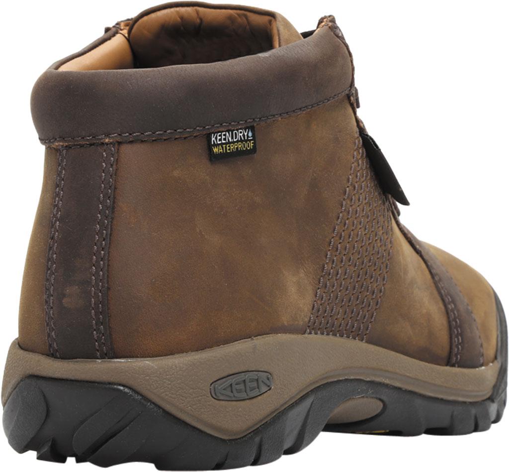Men's Keen Austin Mid Waterproof Sneaker, Chocolate Brown, large, image 4