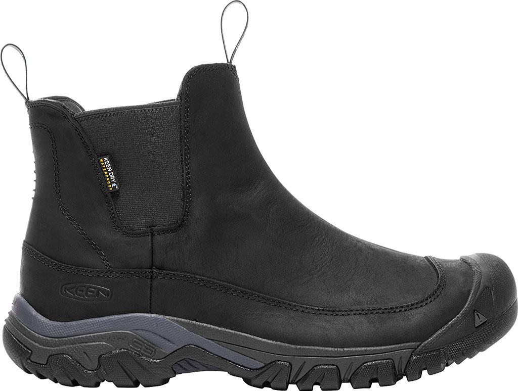 Men's KEEN Anchorage III Waterproof Chelsea Boot, Black/Raven, large, image 2