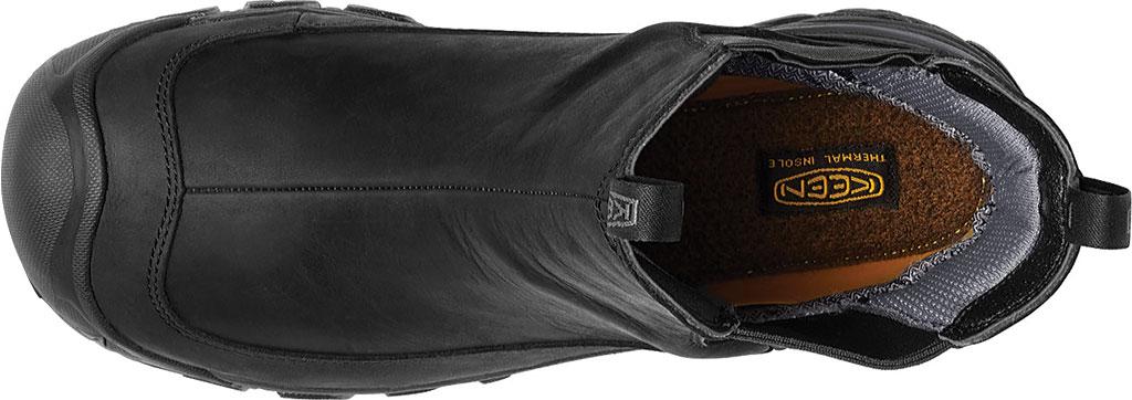 Men's KEEN Anchorage III Waterproof Chelsea Boot, Black/Raven, large, image 3
