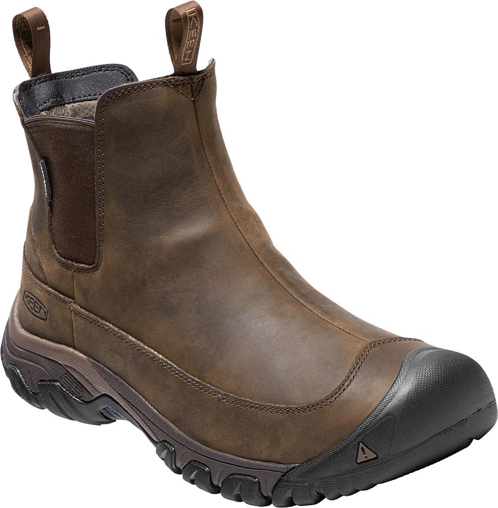 Men's KEEN Anchorage III Waterproof Chelsea Boot, Dark Earth/Mulch, large, image 1