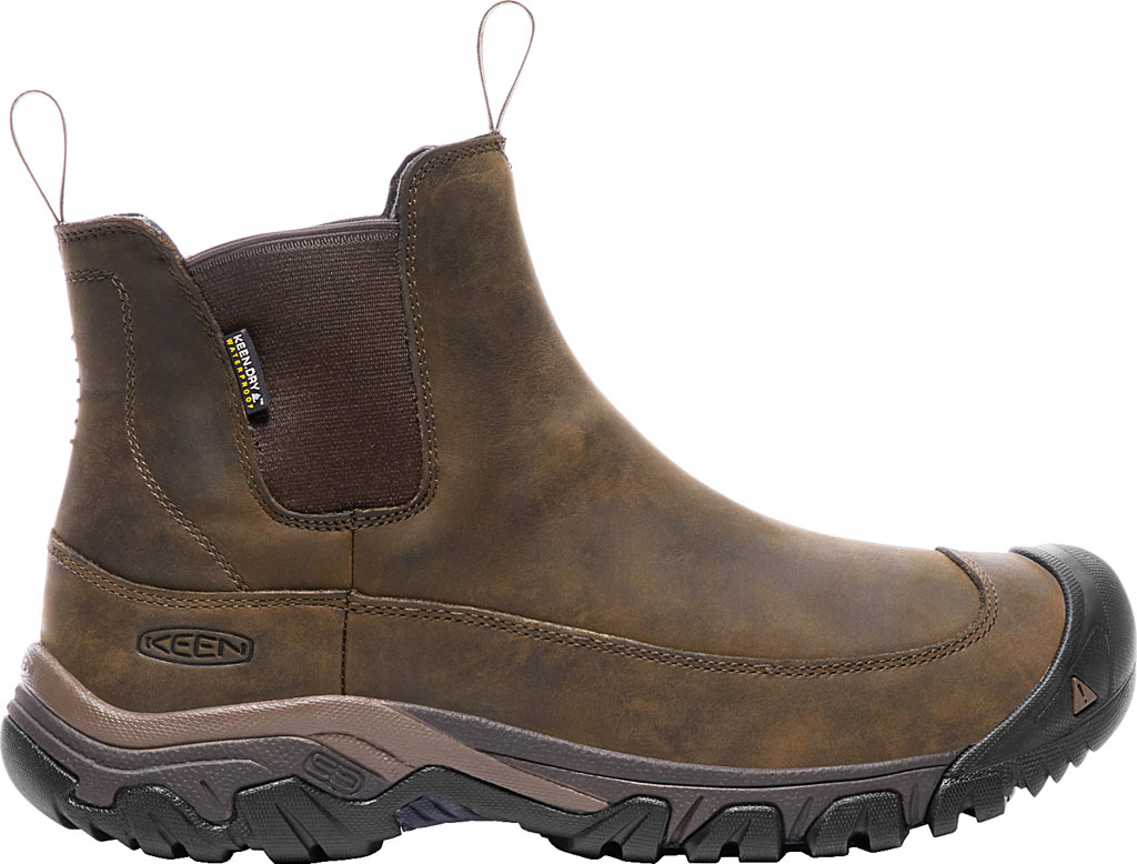 Men's KEEN Anchorage III Waterproof Chelsea Boot, Dark Earth/Mulch, large, image 2