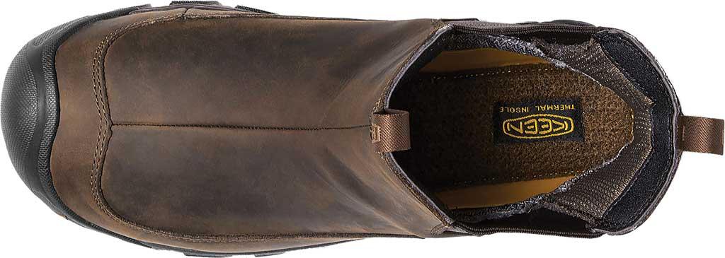 Men's KEEN Anchorage III Waterproof Chelsea Boot, Dark Earth/Mulch, large, image 3