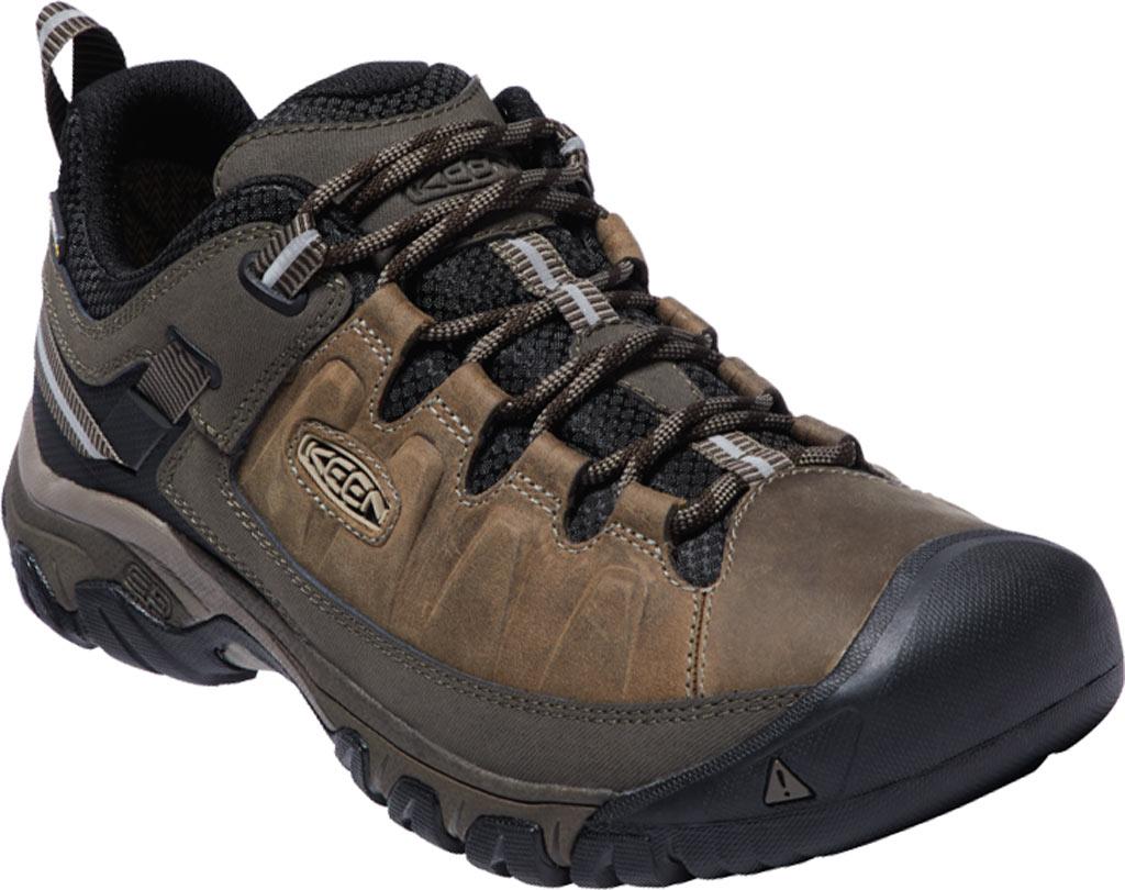 Men's KEEN Targhee III Waterproof Trail Shoe, Bungee Cord/Black, large, image 1