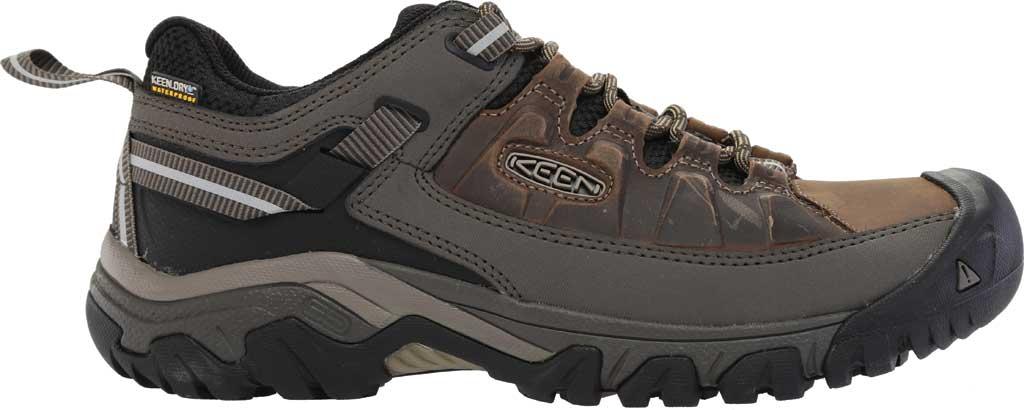 Men's KEEN Targhee III Waterproof Trail Shoe, Bungee Cord/Black/Brown, large, image 2