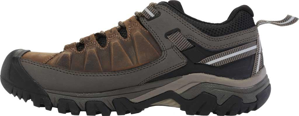 Men's KEEN Targhee III Waterproof Trail Shoe, Bungee Cord/Black/Brown, large, image 3