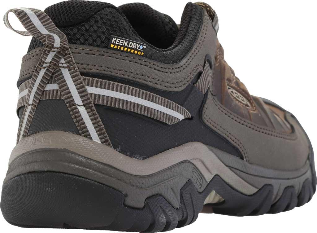 Men's KEEN Targhee III Waterproof Trail Shoe, Bungee Cord/Black/Brown, large, image 4