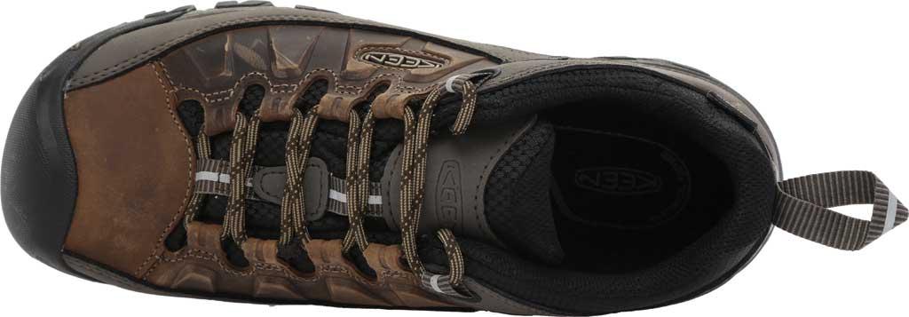 Men's KEEN Targhee III Waterproof Trail Shoe, Bungee Cord/Black, large, image 5