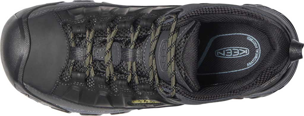 Men's KEEN Targhee III Waterproof Trail Shoe, Black/Olive Drab, large, image 3