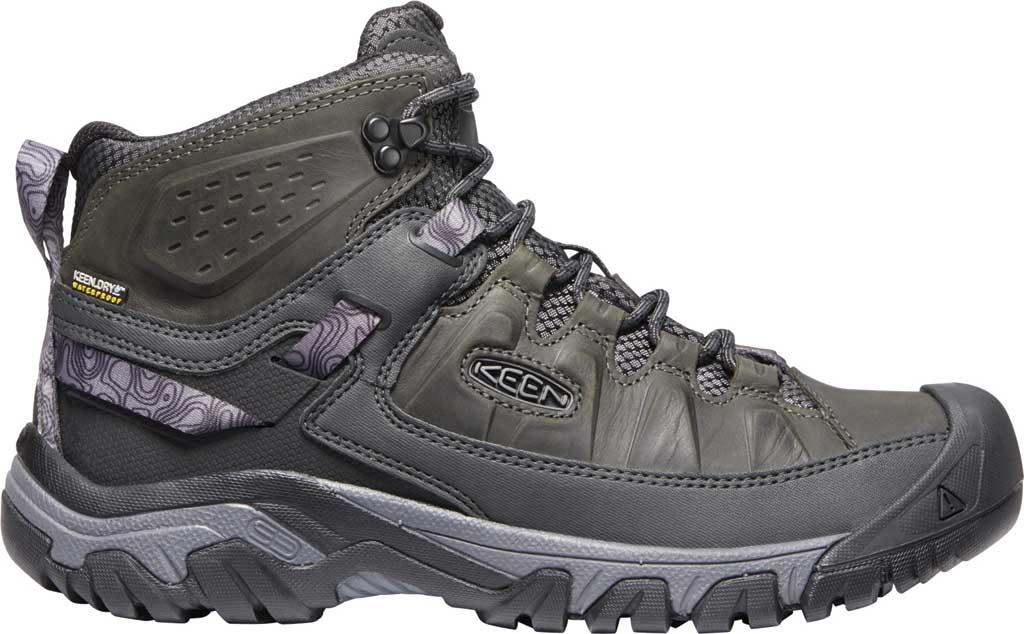 Men's KEEN Targhee III Mid Waterproof Hiking Boot, Magnet/Black, large, image 2