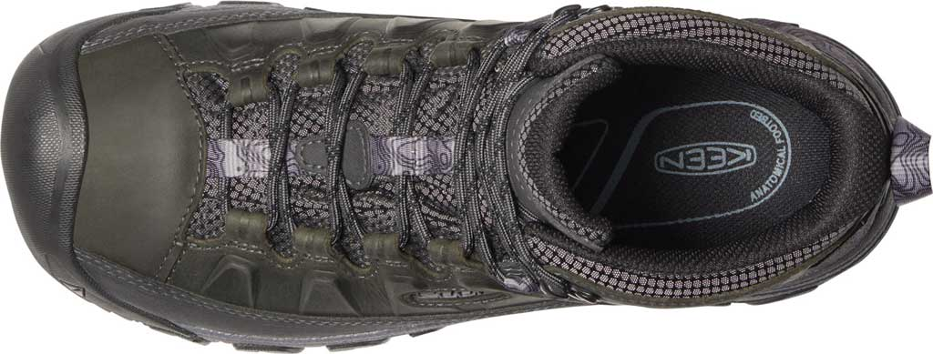 Men's KEEN Targhee III Mid Waterproof Hiking Boot, Black Olive/Golden Brown, large, image 3