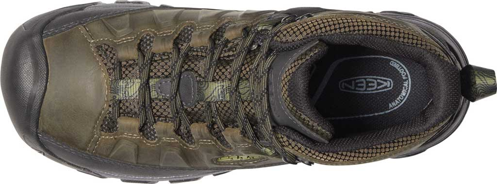 Men's KEEN Targhee III Mid Waterproof Hiking Boot, Dark Olive/Black, large, image 3