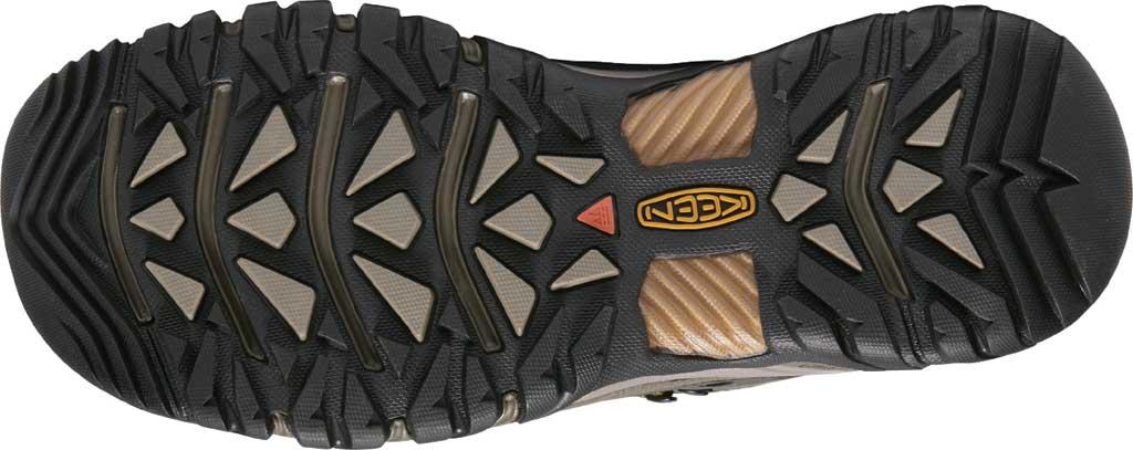 Men's Keen Targhee III Mid Waterproof Hiking Boot, Black Olive/Golden Brown/Grey, large, image 4