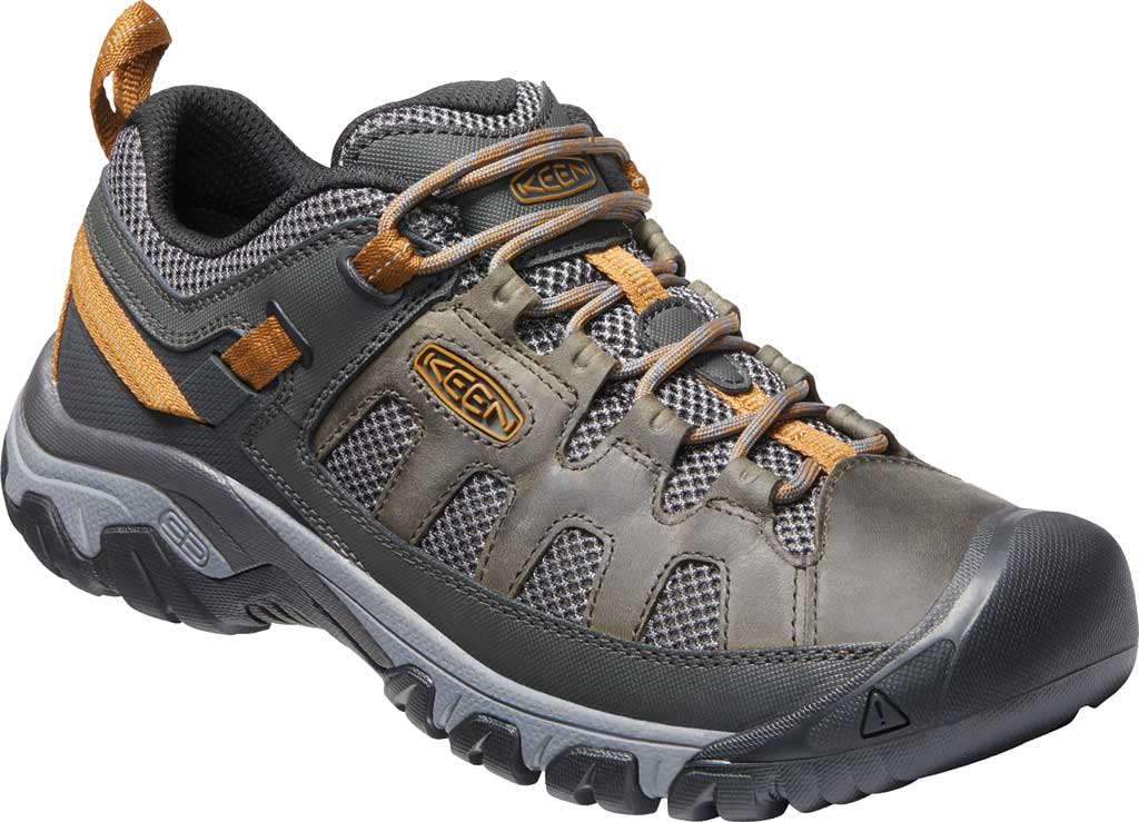Men's KEEN Targhee Vent Trail Shoe, Raven/Bronze Brown, large, image 1