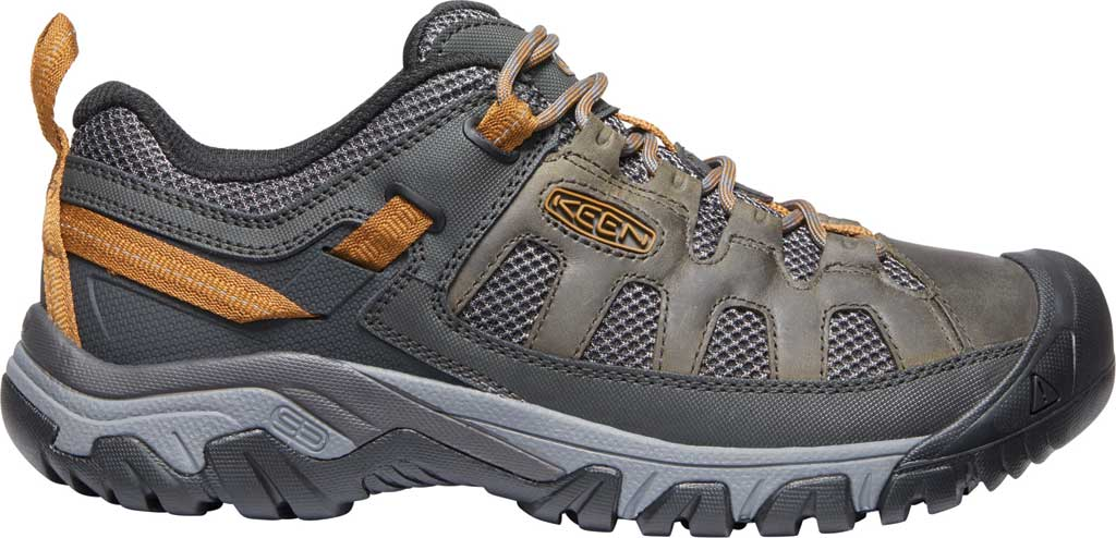 Men's KEEN Targhee Vent Trail Shoe, Raven/Bronze Brown, large, image 2