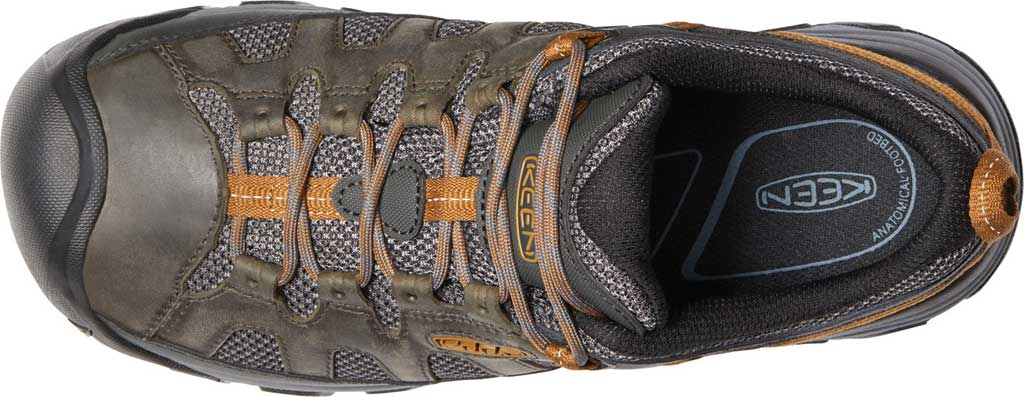 Men's KEEN Targhee Vent Trail Shoe, Raven/Bronze Brown, large, image 3