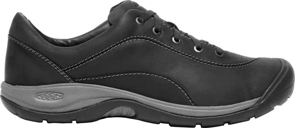 Women's KEEN Presidio II Sneaker, Black/Steel Grey, large, image 2