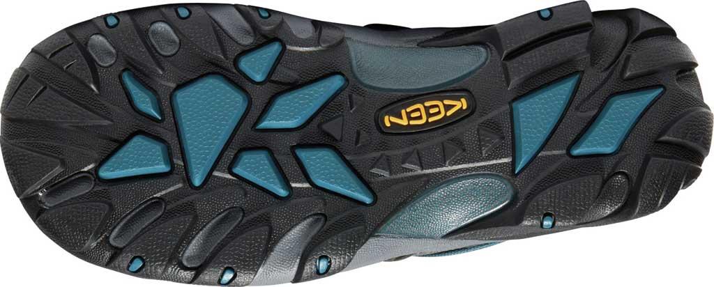 Men's KEEN Voyageur Leather Hiking Shoe, Alcatraz/Legion Blue, large, image 4
