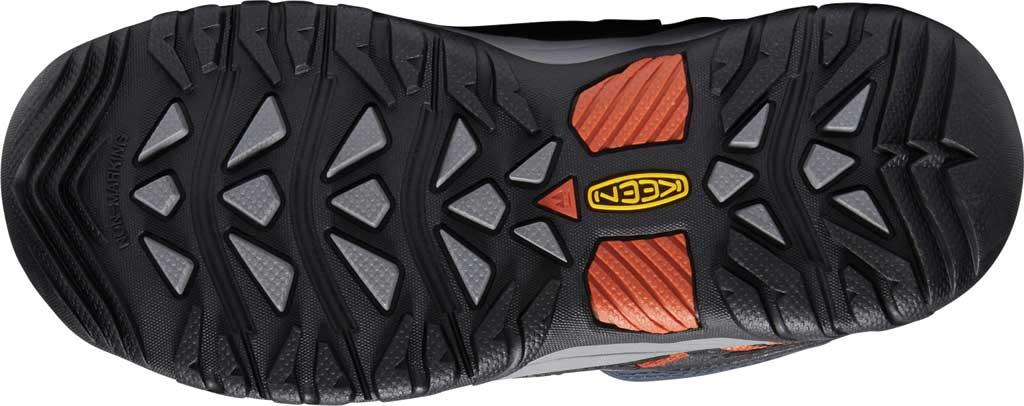 Children's Keen Targhee Mid Waterproof Boot - Big Kid, Blue Nights/Red Carpet, large, image 4