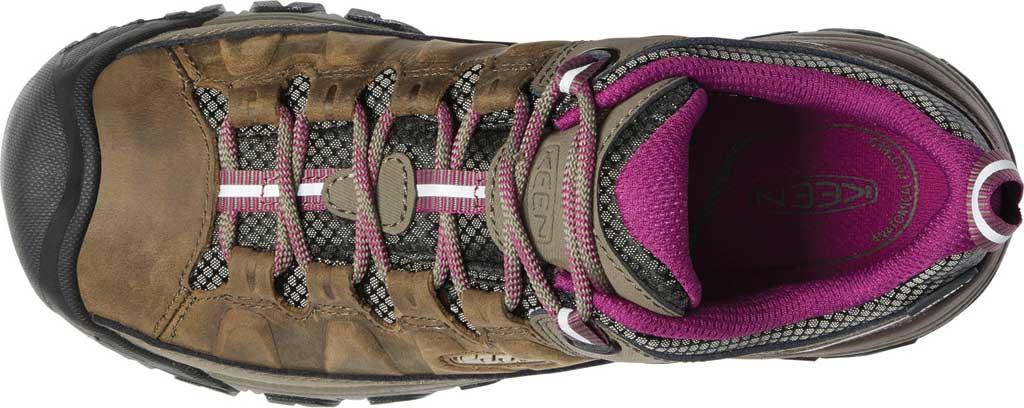 Women's KEEN Targhee III Waterproof Sneaker, Weiss/Boysenberry, large, image 3