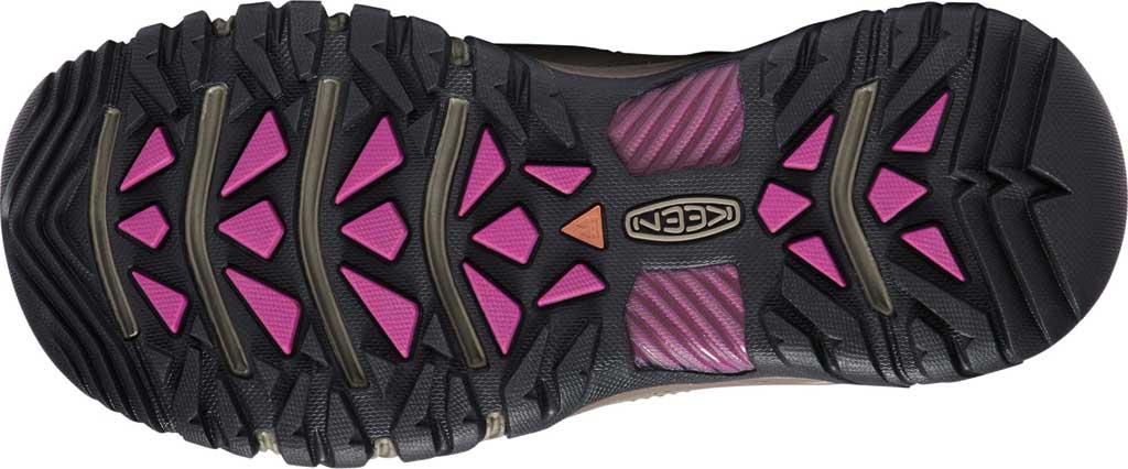 Women's KEEN Targhee III Waterproof Sneaker, Weiss/Boysenberry, large, image 4