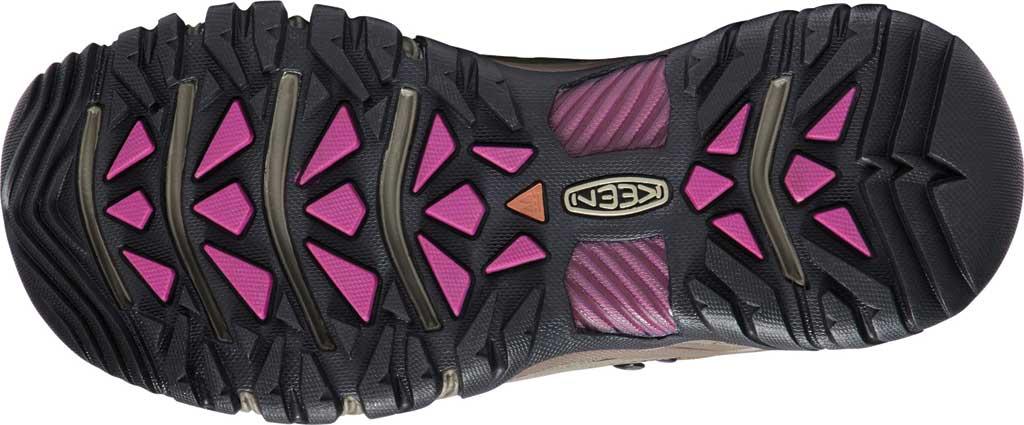 Women's KEEN Targhee III Mid Waterproof Hiking Boot, Weiss/Boysenberry, large, image 4