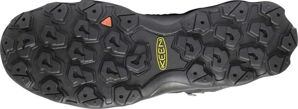 Men's KEEN Venture Mid Waterproof Hiking Boot, Black/Black, large, image 4