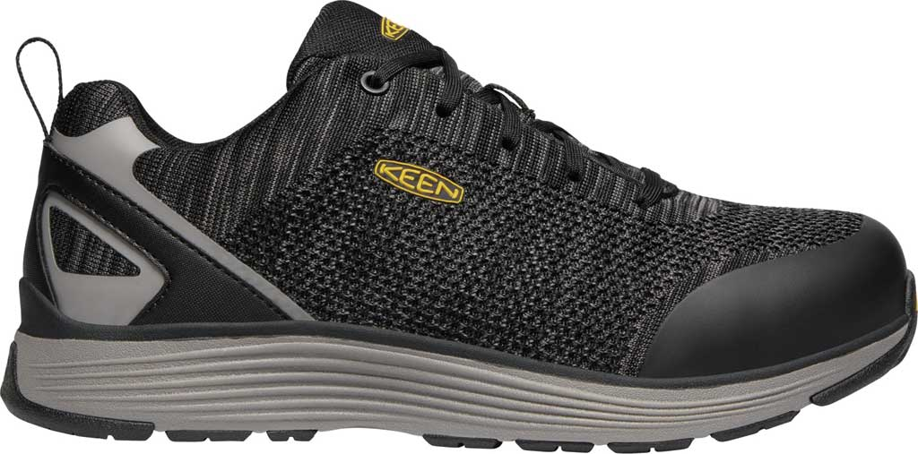 Men's KEEN Utility Sparta Waterproof Shoe, Black/Grey Flannel Leather, large, image 2