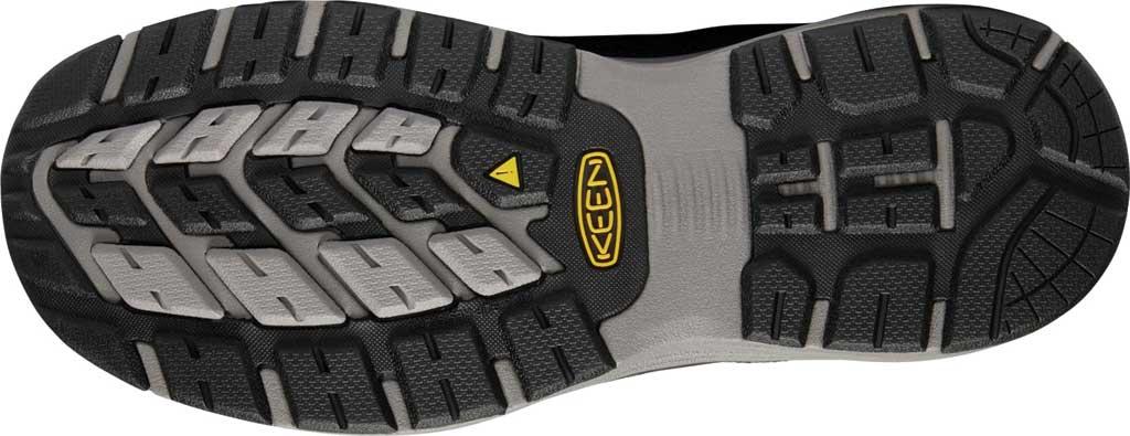 Men's KEEN Utility Sparta Waterproof Shoe, Black/Grey Flannel Leather, large, image 4