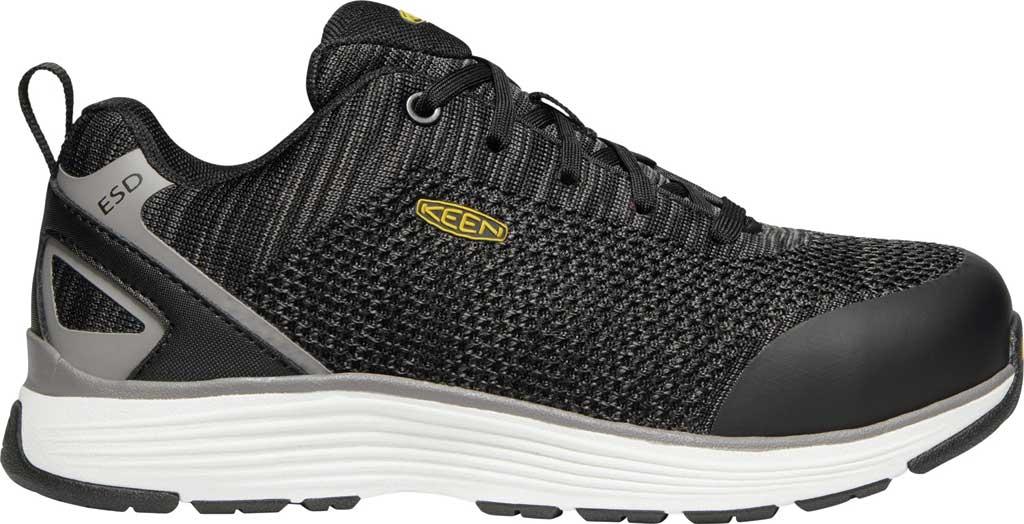Women's KEEN Utility Sparta ESD Waterproof Shoe, Black/Grey Flannel Synthetic, large, image 2