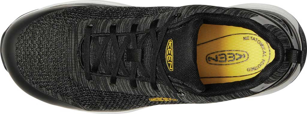 Men's KEEN Utility Sparta ESD Waterproof Shoe, Black/Grey Flannel Synthetic, large, image 3