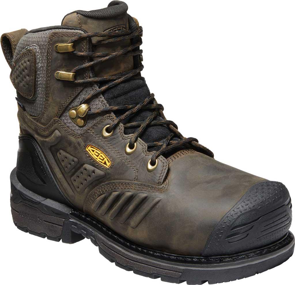 "Men's KEEN Utility CSA Philadelphia 6"" INT.MET Waterproof Boot, Cascade Brown/Black Leather, large, image 1"