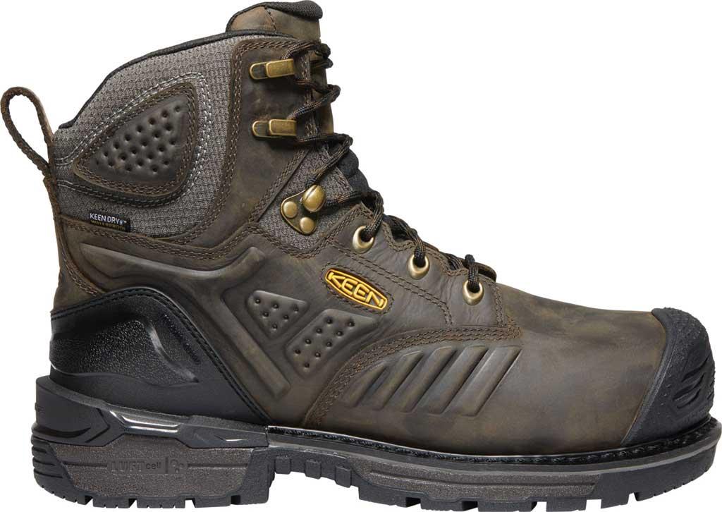 "Men's KEEN Utility CSA Philadelphia 6"" INT.MET Waterproof Boot, Cascade Brown/Black Leather, large, image 2"