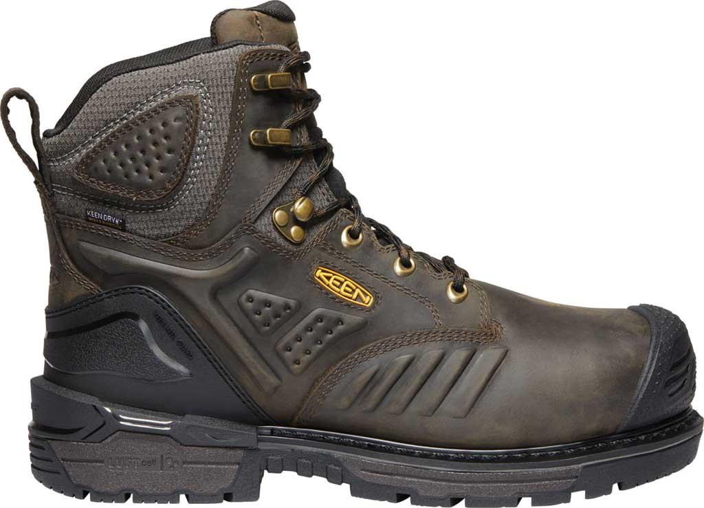 "Men's KEEN Utility Philadelphia 6"" 400G Waterproof Boot, Cascade Brown/Black Leather, large, image 2"