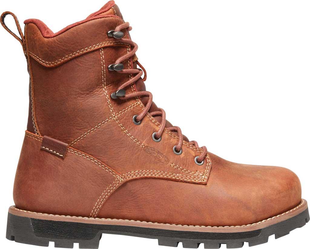 "Women's KEEN Utility Seattle 8"" Waterproof Boot, Gingerbread/Black Leather, large, image 2"