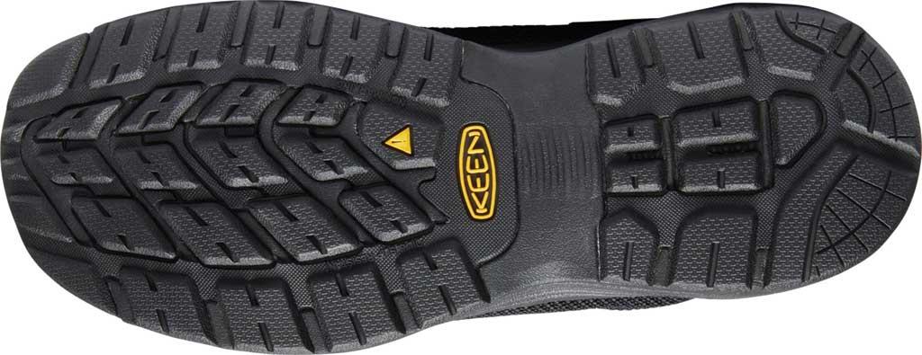 Men's KEEN Utility Sparta Work Shoe, Black/Black Textile, large, image 3