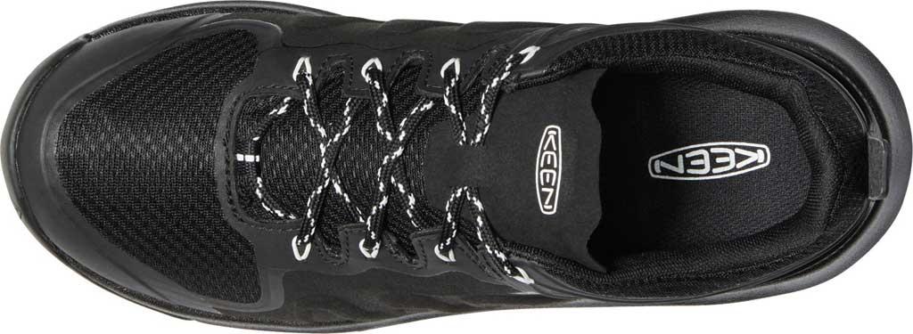 Women's KEEN Explore Waterproof Sneaker, Black/Star White, large, image 3