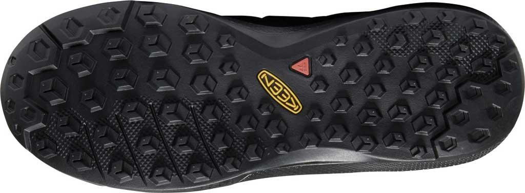 Women's KEEN Explore Waterproof Sneaker, Black/Star White, large, image 4