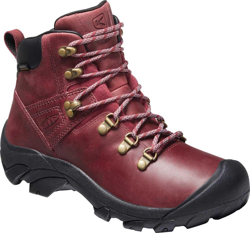 Women's Keen Pyrenees Waterproof Boot, Tibetan Red/Black, large, image 1