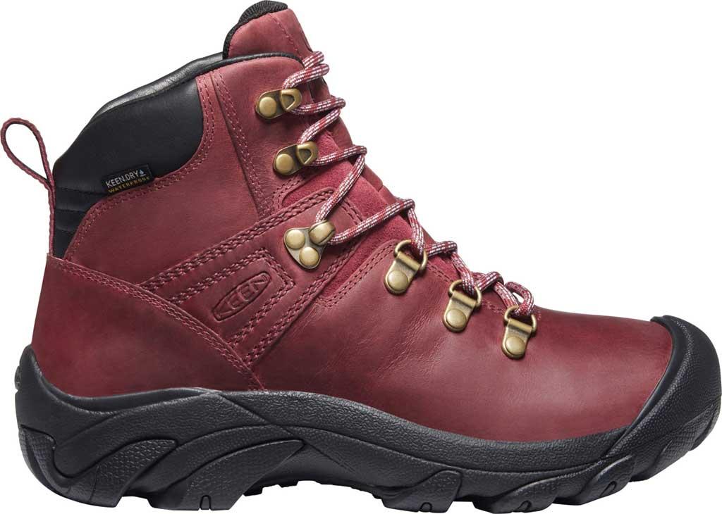 Women's Keen Pyrenees Waterproof Boot, Tibetan Red/Black, large, image 2