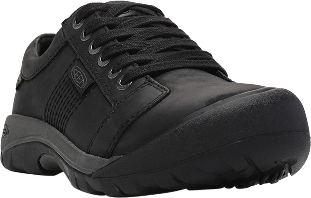 Men's Keen Austin Waterproof Shoe, Black, large, image 1