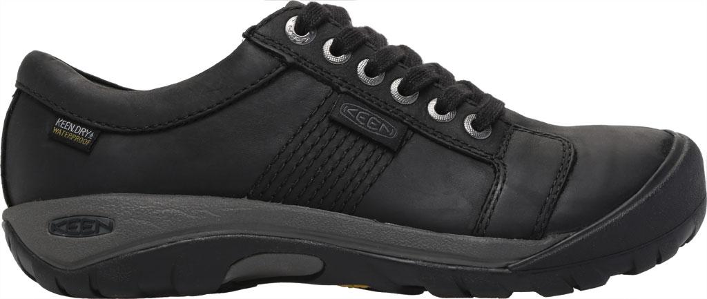 Men's Keen Austin Waterproof Shoe, Black, large, image 2