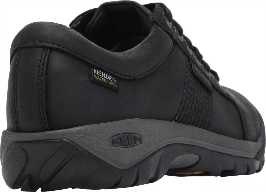 Men's Keen Austin Waterproof Shoe, Black, large, image 4