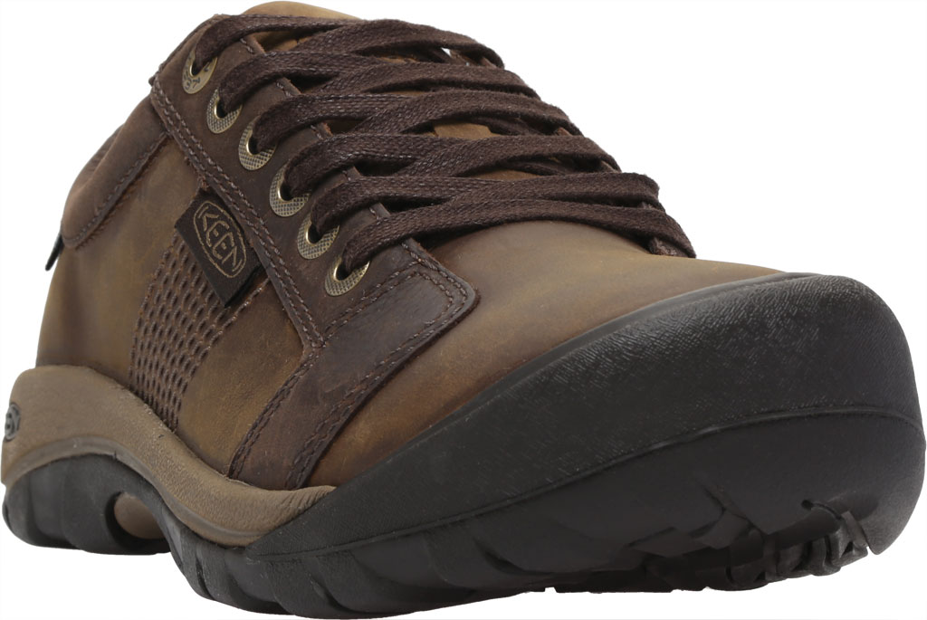 Men's KEEN Austin Waterproof Shoe, Chocolate Brown, large, image 1
