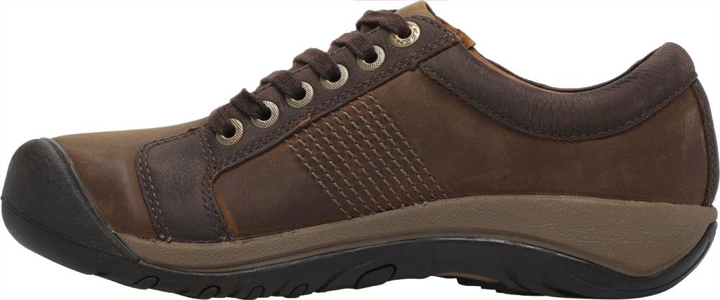 Men's KEEN Austin Waterproof Shoe, Chocolate Brown, large, image 3