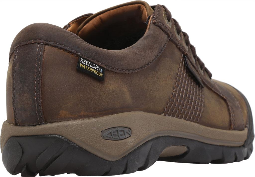 Men's KEEN Austin Waterproof Shoe, Chocolate Brown, large, image 4