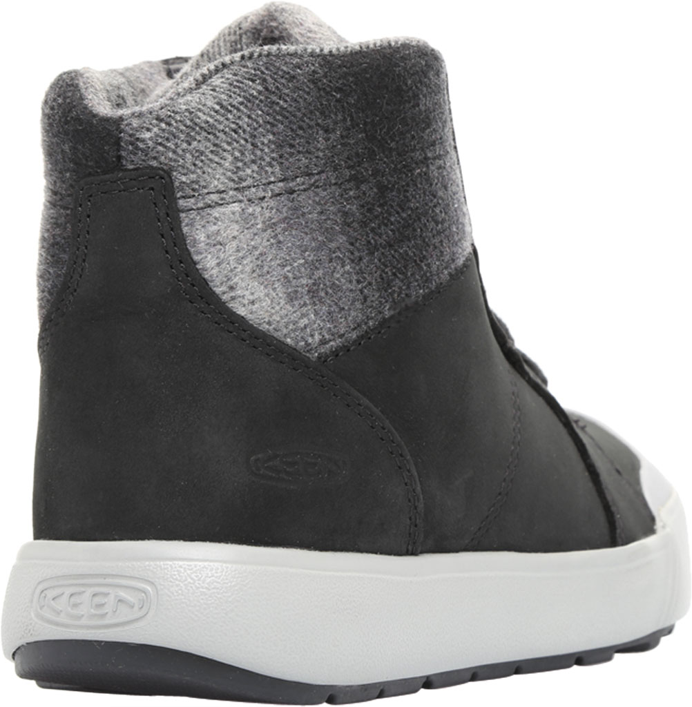 Women's KEEN Elena Mid High Top, Black/Drizzle, large, image 4