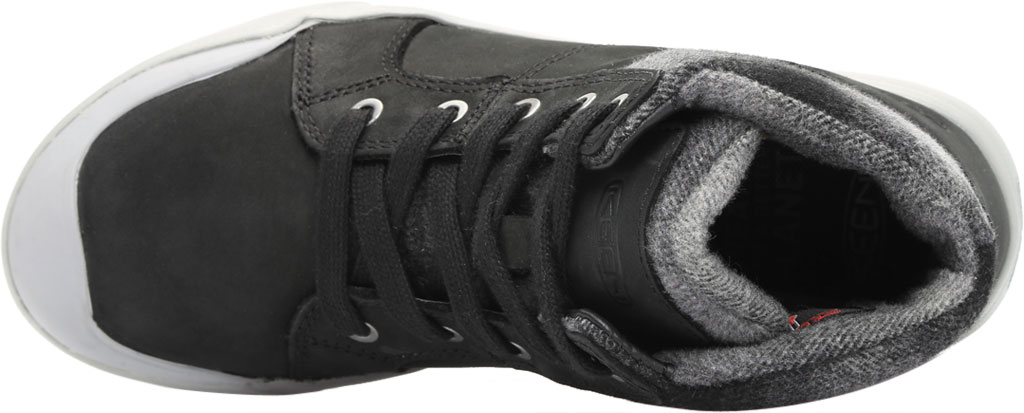 Women's KEEN Elena Mid High Top, Black/Drizzle, large, image 5
