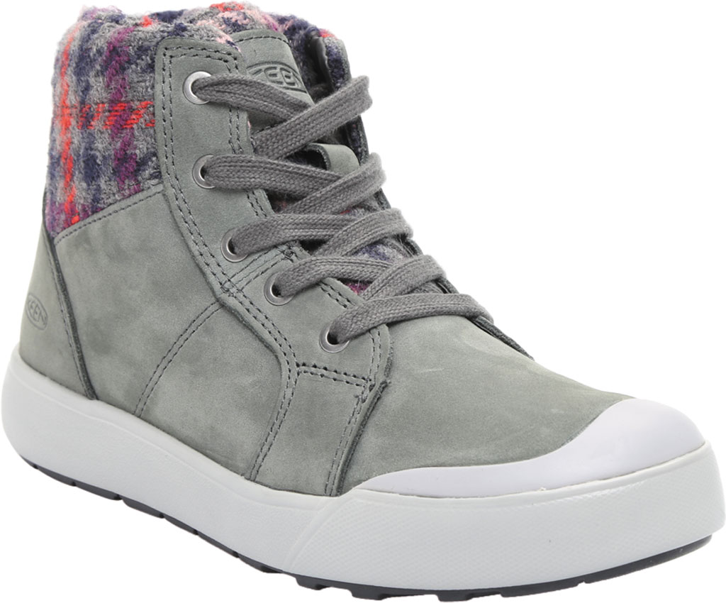 Women's KEEN Elena Mid High Top, Pewter/Drizzle, large, image 1
