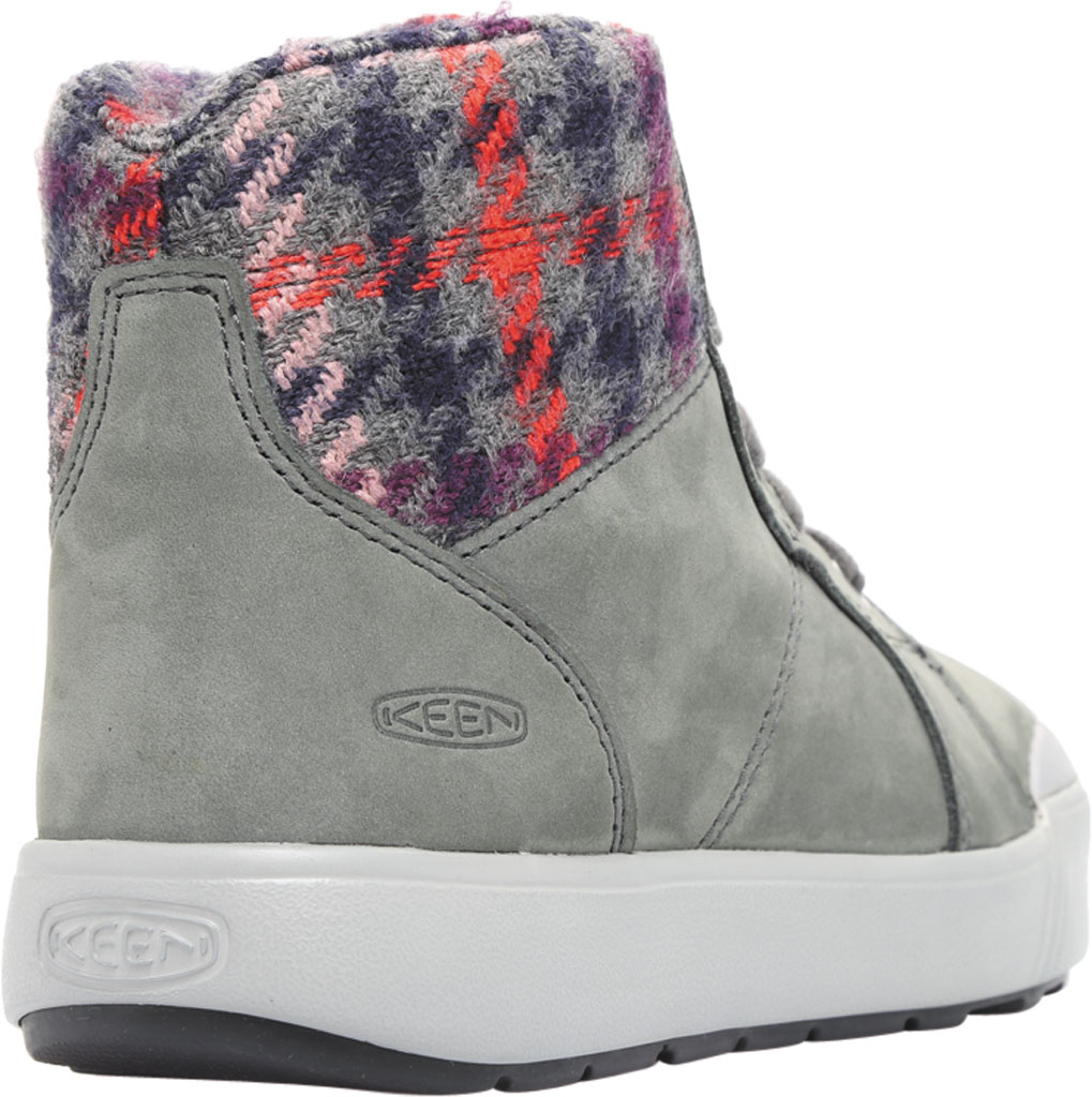 Women's KEEN Elena Mid High Top, Pewter/Drizzle, large, image 4