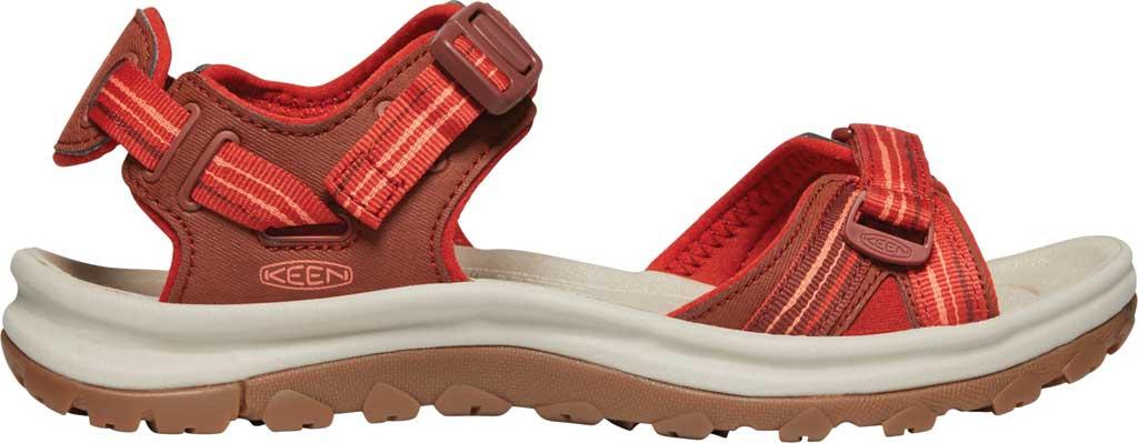 Women's KEEN Terradora II Trail Running Sandal, Dark Red/Coral, large, image 2